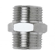 Niplu cu filet exterior-exterior Mecafer 1/4""