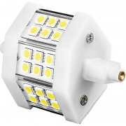 Luminea LED-SMD-Lampe m. 18 High-Power-LEDs R7S 78mm,tageslichtweiss, 350 lm