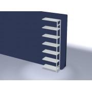 Discountoffice Systeemstelling Aanbouwveld HxBxD 3000x1010x435mm Vakl. 225kg