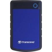 HDD Extern Transcend StoreJet 25H3 1TB USB 3.0 Albastru