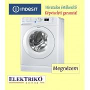 Indesit BWSA 61253 elöltöltős mosógép, A+++ energiaosztály, keskeny , 6 kg ruhatöltet