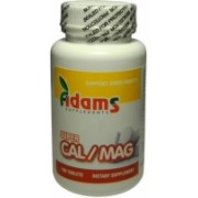 Super Calciu Magneziu Adams Vision 100tbl