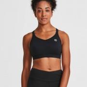 IdealFit Core Sports Bra - Black - L - Black