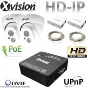 IP CCTV Systém 2x HD IP kamera + NVR