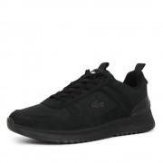 Lacoste joggeur 2.0 sneakers zwart - zwart - Size: 40