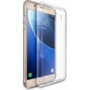 Husa Ringke Samsung Galaxy J7 2016 Fusion Crystal Clear + Folie Ringke Invisible Screen Defender