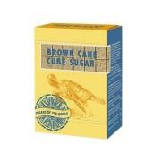 Kockacukor, barna nád, 500 g (KHK122H)