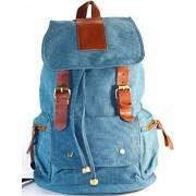 AM Landen® Canvas Backpack School Bag Upgraded Version (Medium)