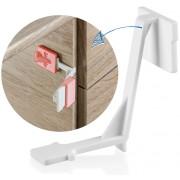 Siguranta pentru sertare si usi de dulapuri REER 71010
