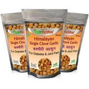 NutrActive Himalayan Single Clove Garlic for Control Diabetes Joint Pain Kashmiri Lehsun (Pack of 3)