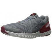 Reebok Men s Twistform Blaze 2.0 Mtm Running Shoe Asteroid Dust/Merlot Metallic/Riot Red/Merlot/Steel 10 D(M) US