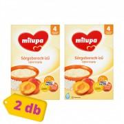 Milupa sárgabarack ízű tejberizspép 4 hó+ (2x250 g)