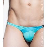 Mategear Nan Song IX Tapered Sides V Front Ultra Pouch Bikini Swimwear Turquoise 1260502
