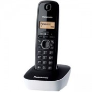 Безжичен DECT телефон Panasonic KX-TG1611, Бял, 1015049