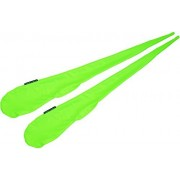 Pro Sock Poi (GREEN) Flames N Games Pro Spinning Poi Socks - Pair of Quality Stretchy Lycra Poi Socks.