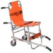 sedia portantina da evacuazione a 2 ruote ferno40 in alluminio - peso