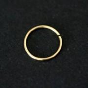 Piercing de Ouro 18k 0750 Argola Simples