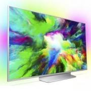Телевизор Philips 55,UHD 4K ултратънък телевизор, Android ,Quad Core, 16 GB, Ambilight 3, P5 Perfect Picture, Micro Dimming Pro,1700PPI, 55PUS7803/12
