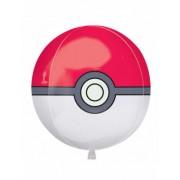 Vegaoo Aluminium Ballon Pokéball Pokemon 38 x 40 cm