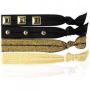 Knotties Hair Tie, Embellished Gold Hårsnoddar