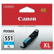 Canon Ink Cyan pro Pixma iP7250, MG5450, MG6350, 11 ml CLI551C XL