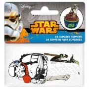 Stor Papieren Cupcake Toppers Star Wars pk/24