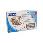 Leagan portabil copii Baby Mix BY012S gri