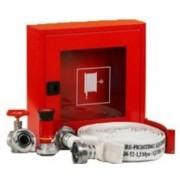 Cutie hidrant interior AURAS LT C52 cu usa cu sticla – rosie – complet echipata