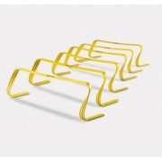 Set 6 Garduri Antrenament SKLZ H6IN-001, Inaltime 15cm (Galben)