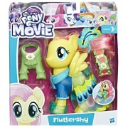 My Little Pony Movie, Figurina fashion cu tinuta de gala - Fluttershy
