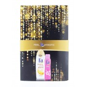 Fa Caseta femei:Crema de dus+Spray deodorant 250+150 ml Honey+Pink