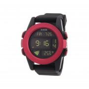 Reloj Nixon A1971307-Negro Con Rojo