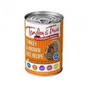Tender & True Antibiotic-Free Natural Turkey & Brown Rice Recipe Canned Dog Food, 13.2-oz, case of 12