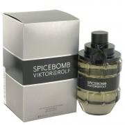 Spicebomb Eau De Toilette Spray By Viktor & Rolf 3 oz Eau De Toilette Spray