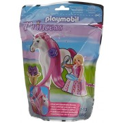 Playmobil 6166 Princess Rosalie With Horse Building Kit