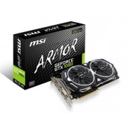 VGA MSI GTX 1080 Armor OC 8G, nVidia GeForce GTX 1080, 8GB 256-bit GDDR5, do 1797MHz, DP 3x, DVI-D, HDMI, 36mj