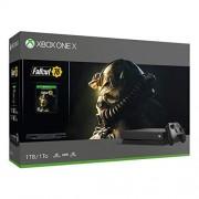 Microsoft Consola Xbox One X de 1 TB, paquete Fallout 76 (descontinuado) X 1TB Fallout 76 Bundle Edition