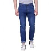 Black Bee Stylish Dark Blue Jeans For Men