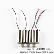 Generic 4PCS FOR X400 : 4pcs Motors For Mjx X400 X401h Cw Ccw Brush Engine Drone Spare Parts Quadcopter Motor Accessory Dron Kit Moto