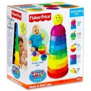 Piramida din Cupe Colorate Fisher Price