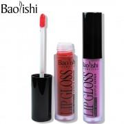 baolishi Brand Makeup matte Lip Gloss Waterproof batom Full color Tint Nude liquid lipstick Non-stick cup lipgloss cosmetics