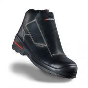 Zváračská kožená bezpečnostná obuv s nekovovou bezpečnostnou špičkou HECKEL MACSOLE 1.0 WLD LOW 6264007 Farba: Čierna, Veľkosť: 42