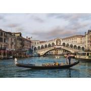 Puzzle Jumbo - Venice - Rialto Bridge, 1.000 piese (18556)