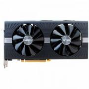SAPPHIRE Video Card AMD Radeon NITRO- RX 580 4G GDDR5 DUAL HDMI / DVI-D / DUAL DP W/BP UEFI 11265-07-20G
