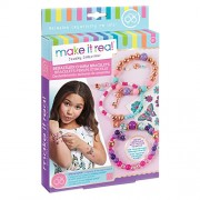 Make It Real Bedazzled! Charm Bracelets - Blooming Creativity. DIY Charm Bracelet Making Kit for Girls. Arts and Crafts Kit to Create Unique Tween Bracelets with Beads, Charms & Tattoo Stickers