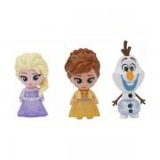 Set 3 Mini Figurine Elsa Anna si Olaf Whisper and Glow Frozen 2