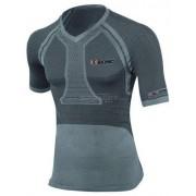 X-Bionic Fennec - T-shirt running - uomo - Anthracite/Silver