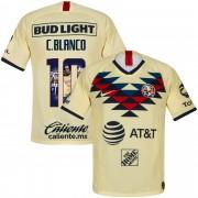 Nike Club America Shirt Thuis 2019-2020 + C. Blanco 10 (Gallery Style) - XXL
