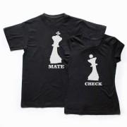 Tricouri Cuplu CheckMate