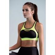 Sutien fitness Nela neon galben XL